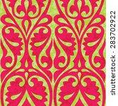 stylized historical arabian... | Shutterstock .eps vector #283702922