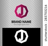 letter j logo icon design... | Shutterstock .eps vector #283703216