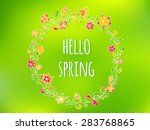 vector colorful design for... | Shutterstock .eps vector #283768865