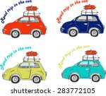 cars set road trip for your... | Shutterstock .eps vector #283772105