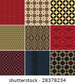 vector seamless patterns. easy...