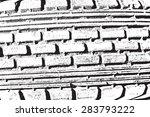 distress overlay texture  ... | Shutterstock .eps vector #283793222