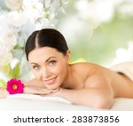 people  beauty  spa and body...   Shutterstock . vector #283873856