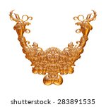 ornamental jewelry element in... | Shutterstock . vector #283891535