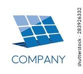 vector sign solar panel | Shutterstock .eps vector #283926332