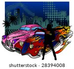 vector illustration of vintage... | Shutterstock .eps vector #28394008