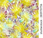 watercolor seamless pattern... | Shutterstock . vector #283970756