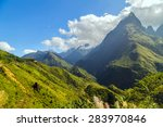 landscape of mountain sa pa.... | Shutterstock . vector #283970846