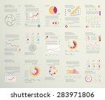 infographic set  elements for... | Shutterstock .eps vector #283971806