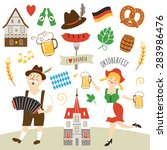 germany elements collection... | Shutterstock .eps vector #283986476