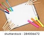 still life  children  school ... | Shutterstock . vector #284006672