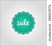 sale badge vector | Shutterstock .eps vector #284023976