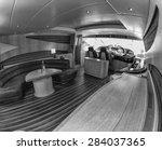 italy  luxury yacht  dinette | Shutterstock . vector #284037365