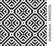 seamless geometric pattern.... | Shutterstock .eps vector #284041226