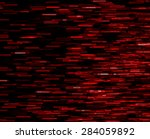 Small photo of Square red vivid 8-bit pixel dot interlaced space stars blast teleport abstraction background backdrop