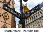 Broadway And Wall Street...