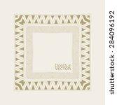 hand drawn doodle border frames.... | Shutterstock .eps vector #284096192