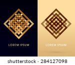 abstract shape  square  box  ... | Shutterstock .eps vector #284127098