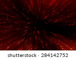 Abstract Red Fractal...