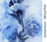 art vintage monochrome... | Shutterstock . vector #284167562