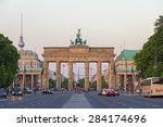 Stock photo berlin germany may view on the brandenburg gate from in berlin germany it s an th 284174696