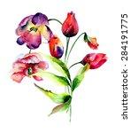 Beautiful Tulips Flowers ...