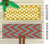 rug top view | Shutterstock .eps vector #284261555