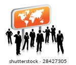 business people | Shutterstock .eps vector #28427305