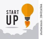 business design over white... | Shutterstock .eps vector #284316566