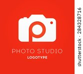 camera logo design for creative ... | Shutterstock .eps vector #284328716