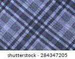 macro purple plaid fabric... | Shutterstock . vector #284347205