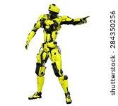 robot | Shutterstock . vector #284350256