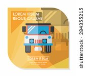 transportation hammer flat icon ...   Shutterstock .eps vector #284355215