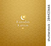 ramadan kareem. ramadan...   Shutterstock .eps vector #284423666