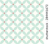 blue flower pattern | Shutterstock . vector #284441672