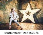 trendy woman | Shutterstock . vector #284452076