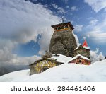 tungnath is the temple of lord... | Shutterstock . vector #284461406