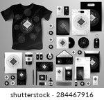 abstract  business set in art... | Shutterstock .eps vector #284467916
