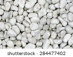 small naturally polished white... | Shutterstock . vector #284477402