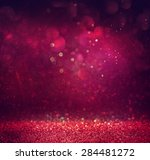 glitter vintage lights...   Shutterstock . vector #284481272
