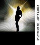 illustration of attractive woman | Shutterstock . vector #284513885