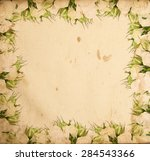 vintage aged background with... | Shutterstock . vector #284543366
