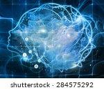 profiles of destiny series.... | Shutterstock . vector #284575292