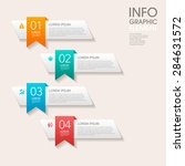 modern vector abstract step...   Shutterstock .eps vector #284631572