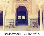 alhambra palace  granada ... | Shutterstock . vector #284647916