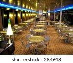 a bistro on an italien... | Shutterstock . vector #284648