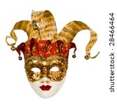 Carnival Venetian Mask With...