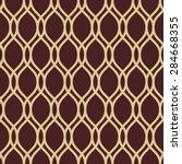 geometric ornament. seamless... | Shutterstock .eps vector #284668355