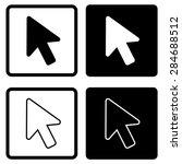 cursor icon | Shutterstock .eps vector #284688512