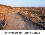 Dirt Road Through The Desert I...